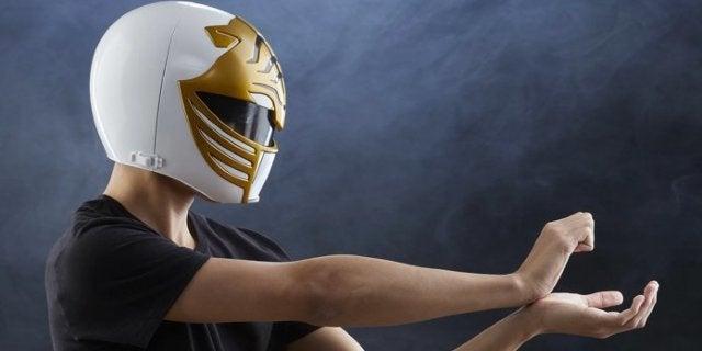 The Power Rangers Lightning Collection White Ranger Helmet Has Arrived