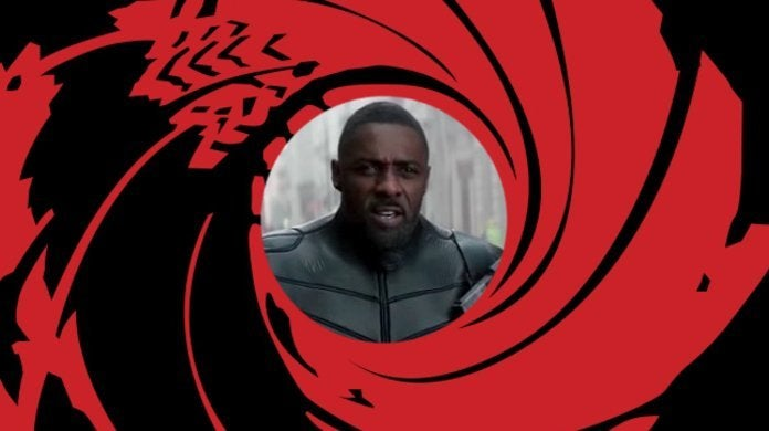 Hobbs Shaw Idris Elba I'm Black Superman James Bond Joke Line