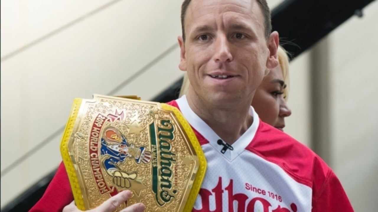 Here's Where to Watch the People's Champ Joey Chestnut Eat Hot Wings for 12 Hours Straight