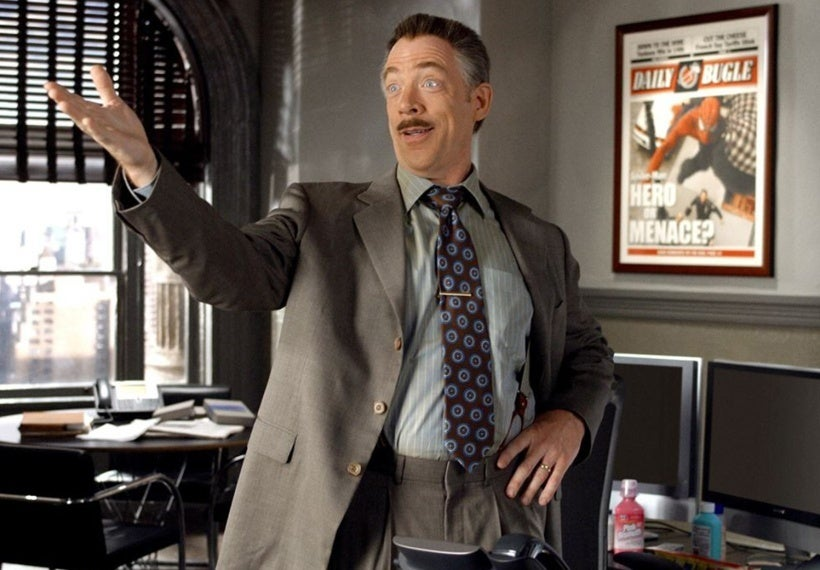 j jonah jameson spider-man