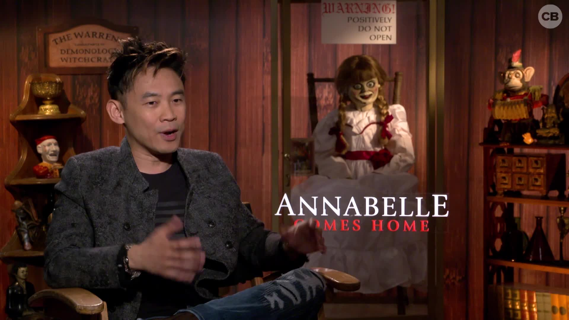 James Wan Talks ANNABELLE COMES HOME screen capture