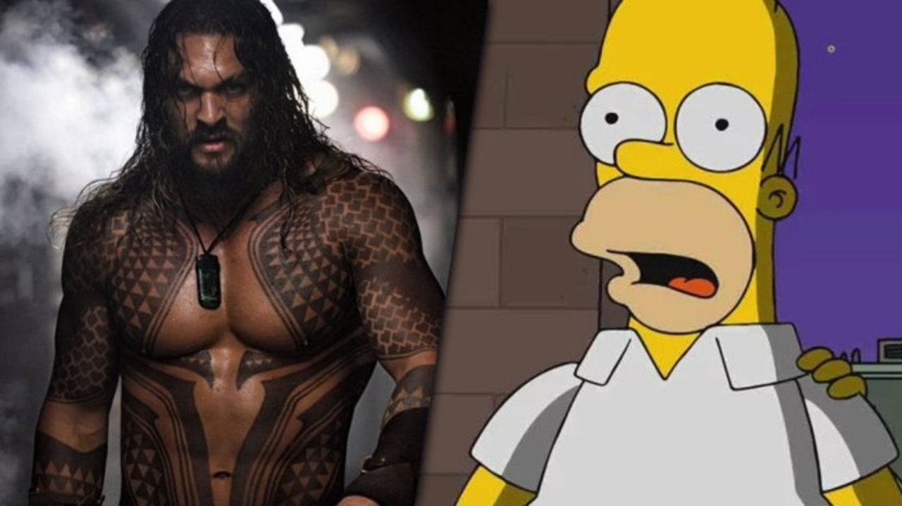 The Simpsons Reveals First Look at Aquaman Star Jason Momoa's Guest Appearance