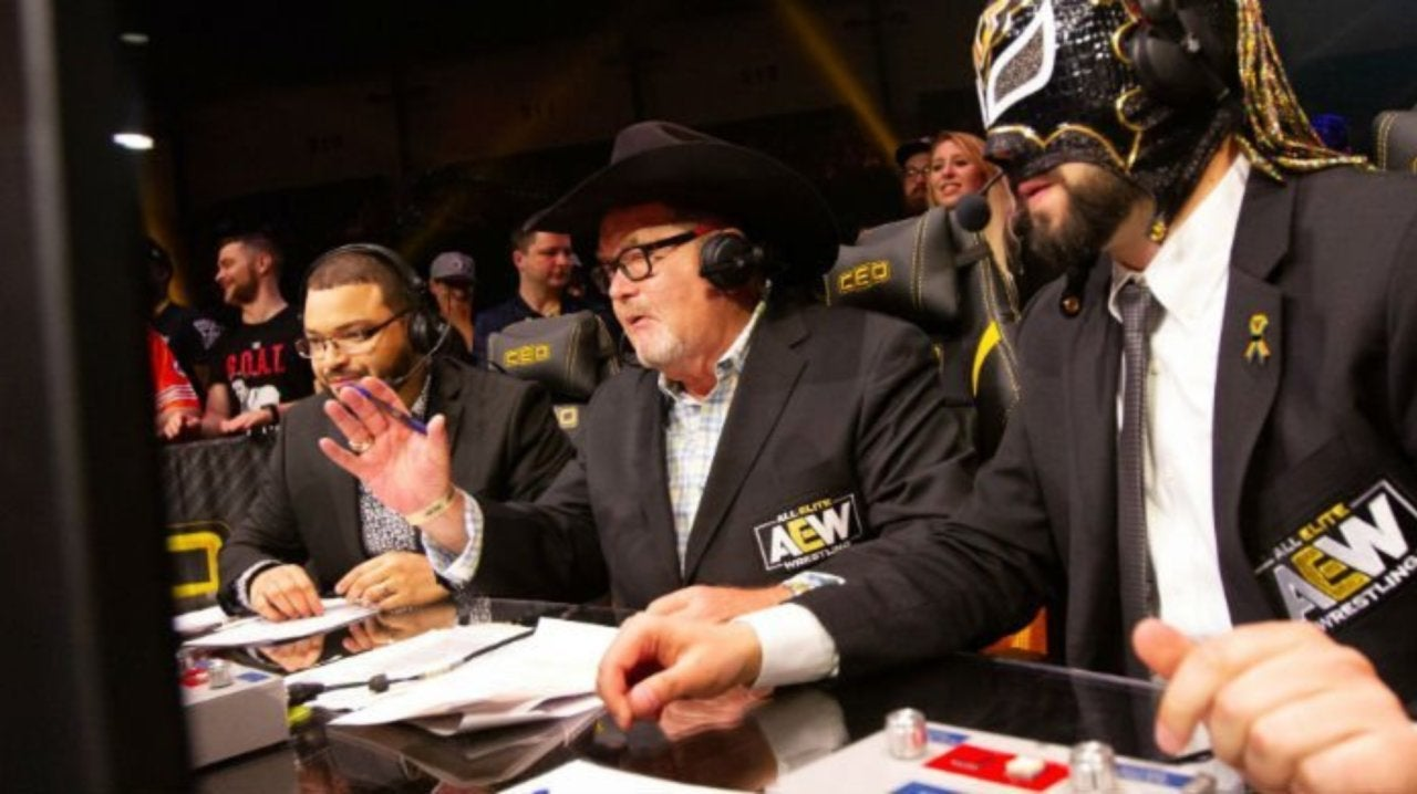 Jim Ross Responds to Criticism of His Commentary Performance at AEW All Out