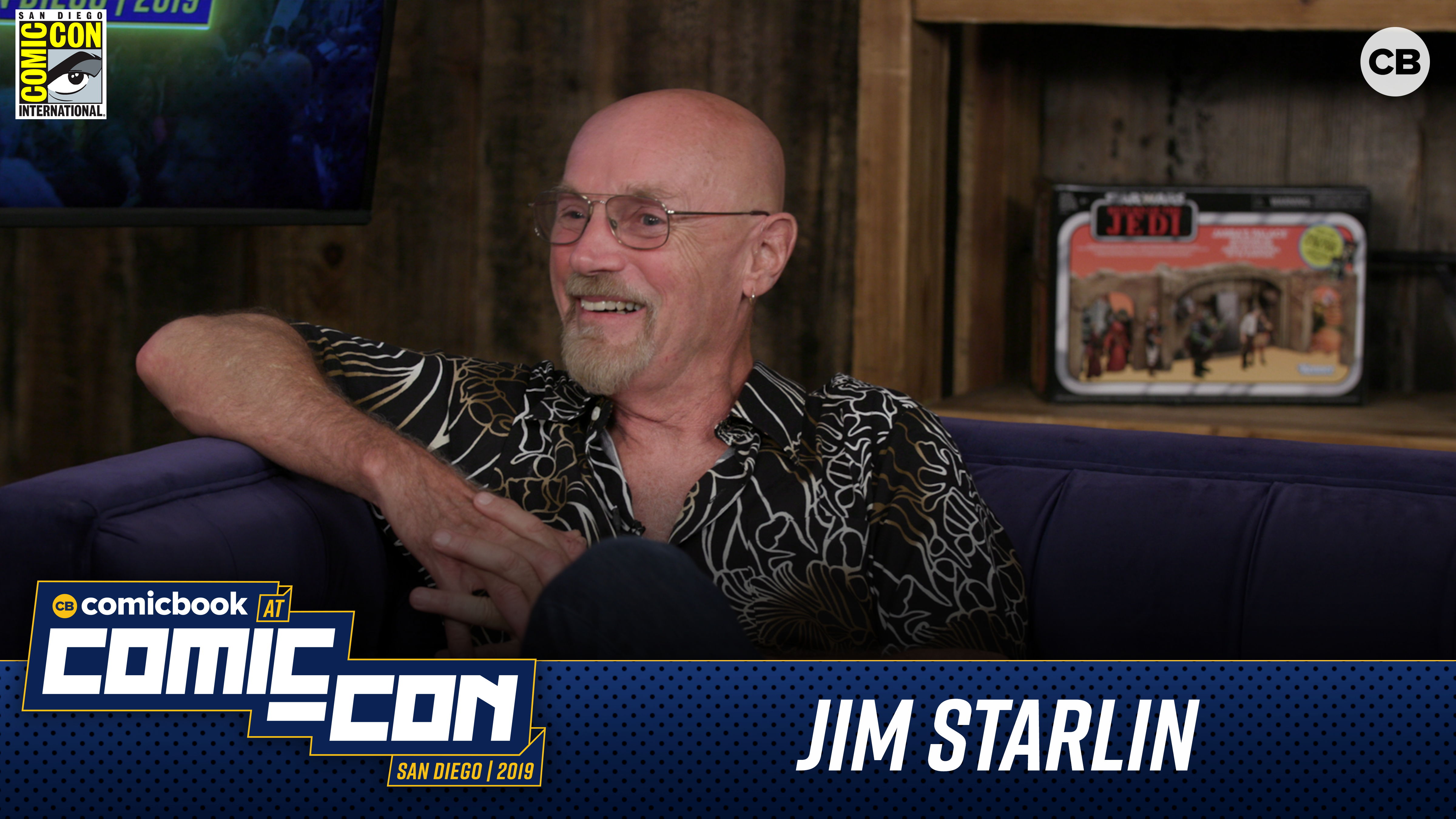 Jim Starlin - San Diego Comic-Con 2019 Interview screen capture
