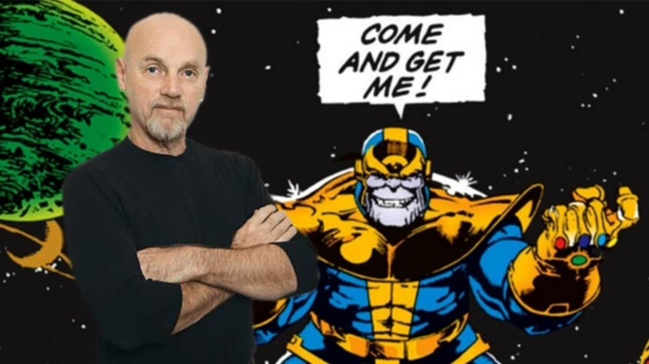 Jim Starling Thanos Infinity War Justice League