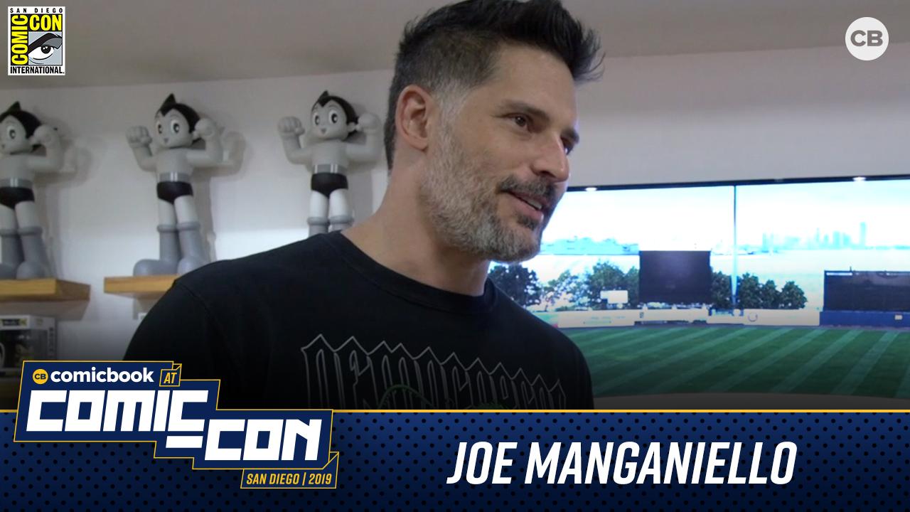 Joe Manganiello - San Diego Comic-Con 2019 Interview screen capture