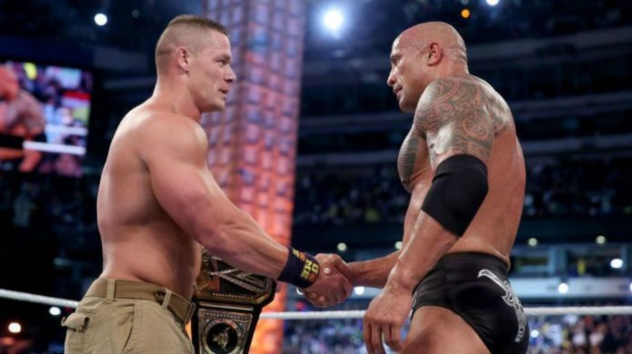 Latest Update on The Rock and John Cena Appearing at Raw Reunion