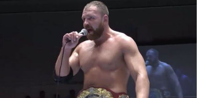 Jon Moxley Forced to Relinquish IWGP United States Championship Due to Typhoon Hagibis