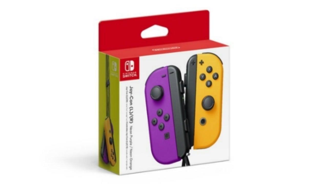 Nintendo Announces New Joy-Con Colors
