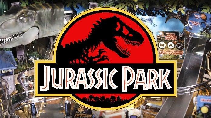 jurassic park pinball
