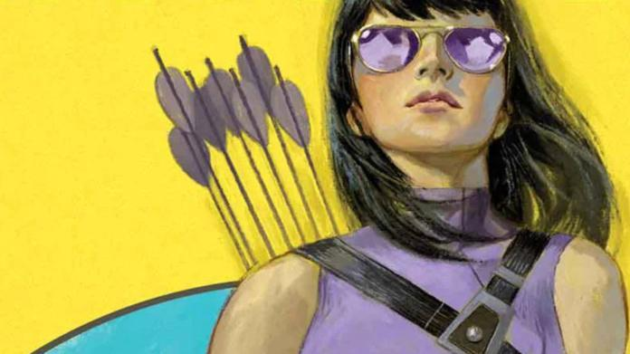 Kate Bishop Young Avengers MCU - Cover