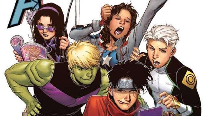 Kate Bishop Young Avengers MCU - Team