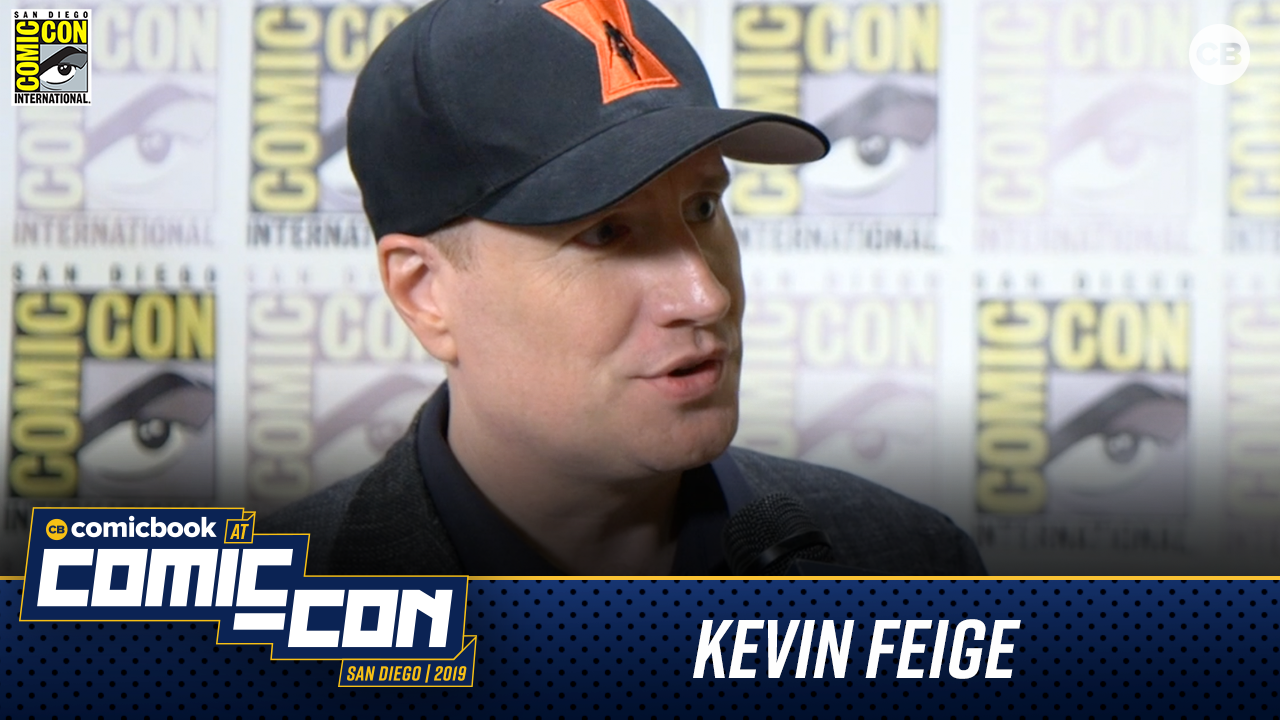 Kevin Feige Talks Phase 4 - San Diego Comic-Con 2019 Interviews screen capture