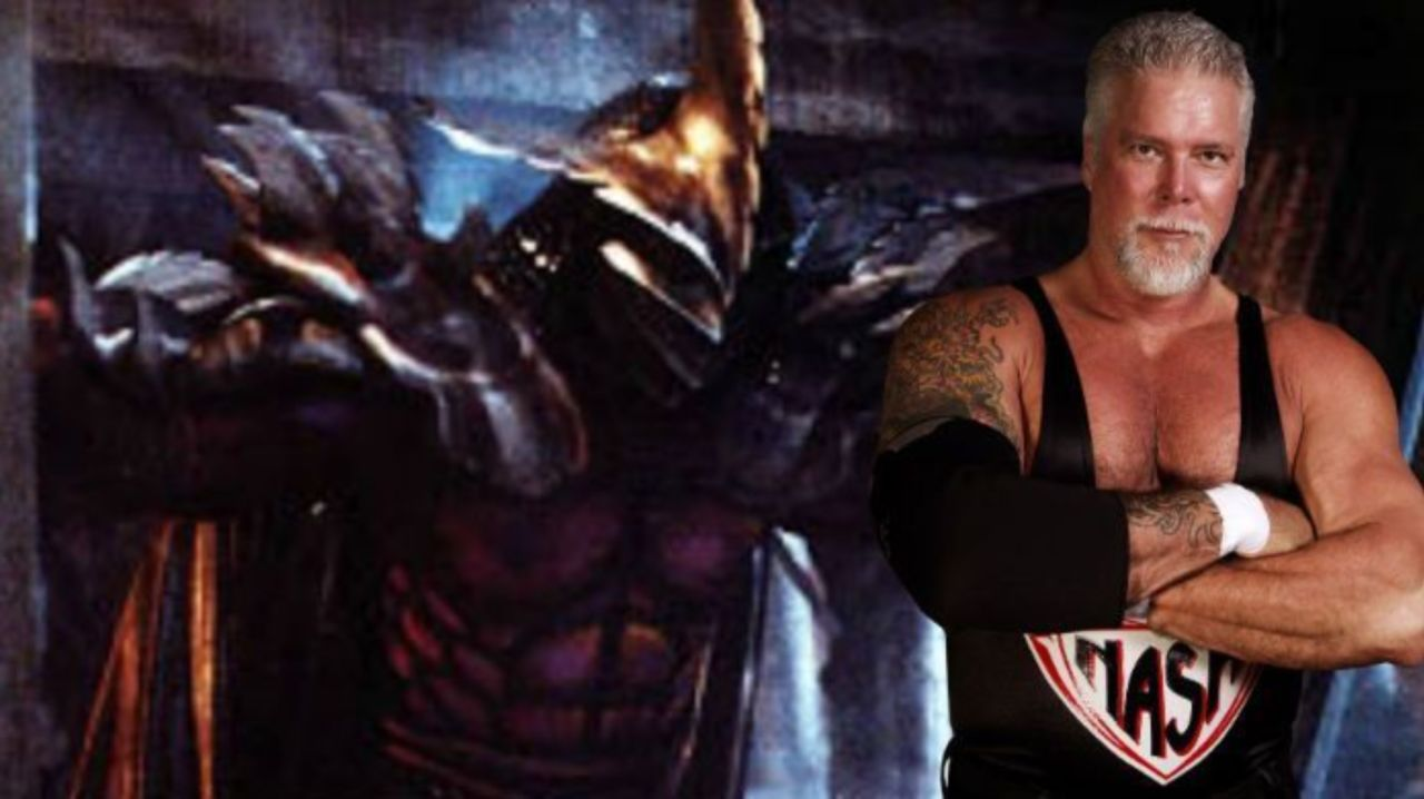 Photo Kevin Nash Shown As Super Shredder In Throwback Photo From