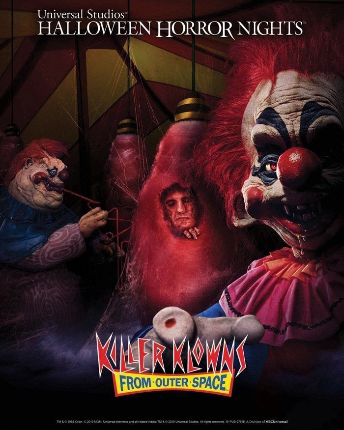 Universal Studios Halloween Horror Nights 2019.Killer Klowns From Outer Space Returning To Halloween Horror Nights