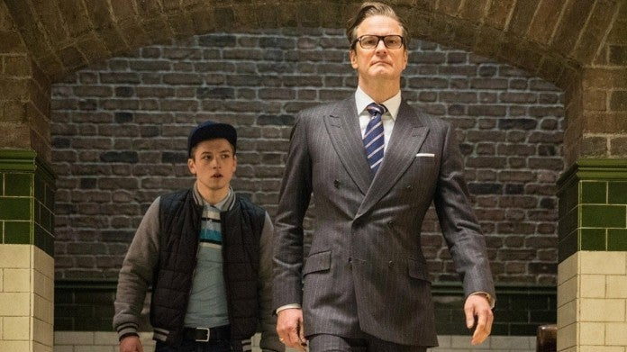 Kingsman Eggsy Harry