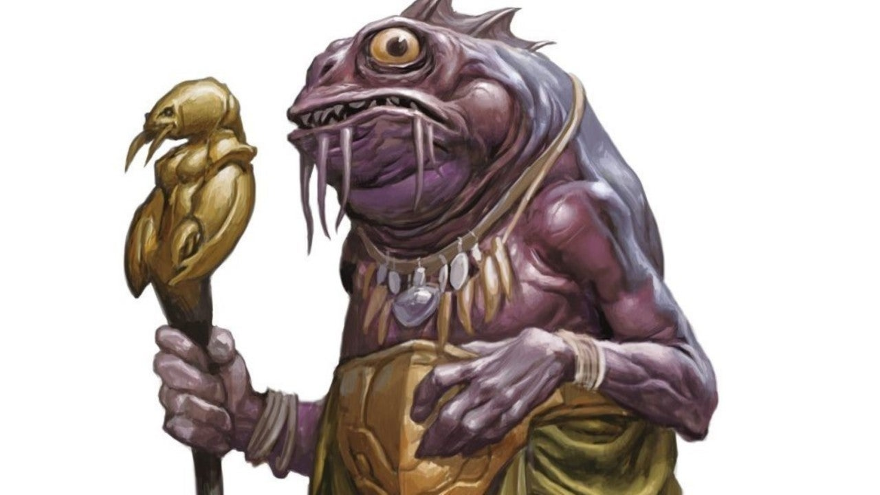This Unlikely Dungeons Dragons Monster Is A God Maker Lobster head or black pearl. dragons monster is a god maker