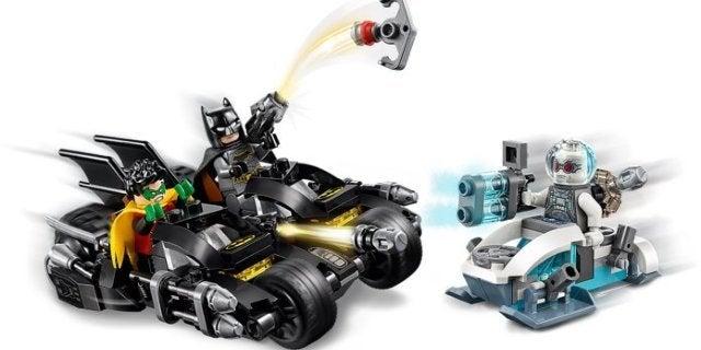 LEGO's Batman 80th Anniversary Mr. Freeze Batcycle Battle Set is Only $20