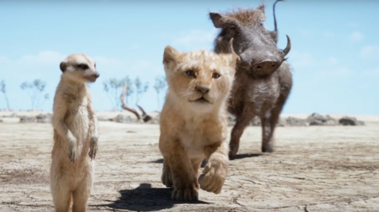 The Lion King Hakuna Matata Clip Released By Disney