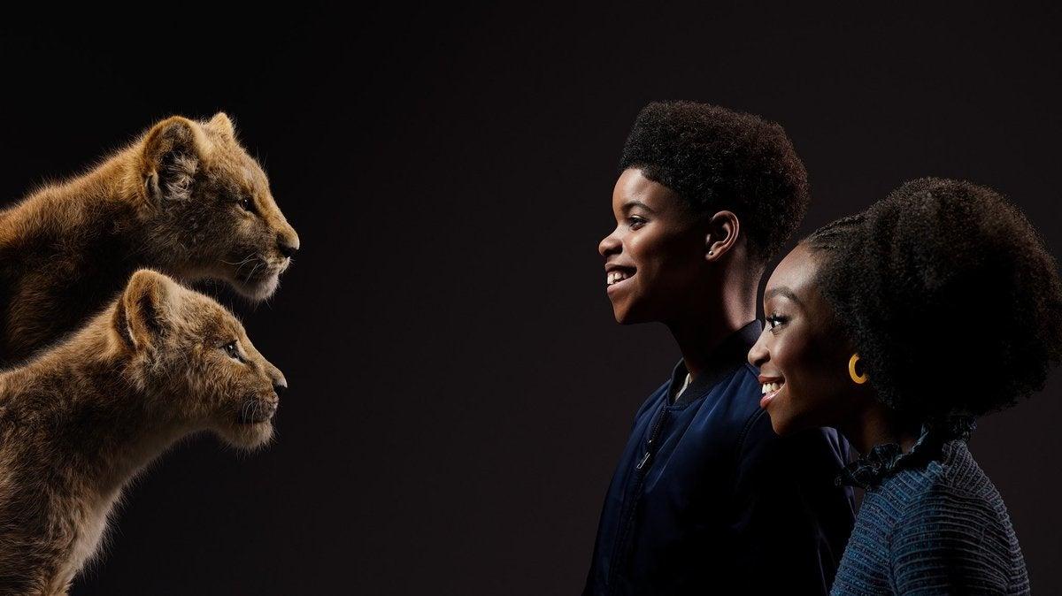 lion king young simba nala