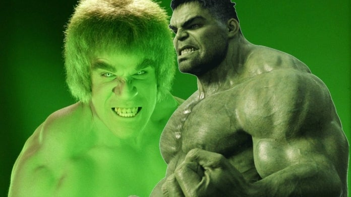 Lou Ferrigno Hulk Mark Ruffalo Hulk comicbookcom