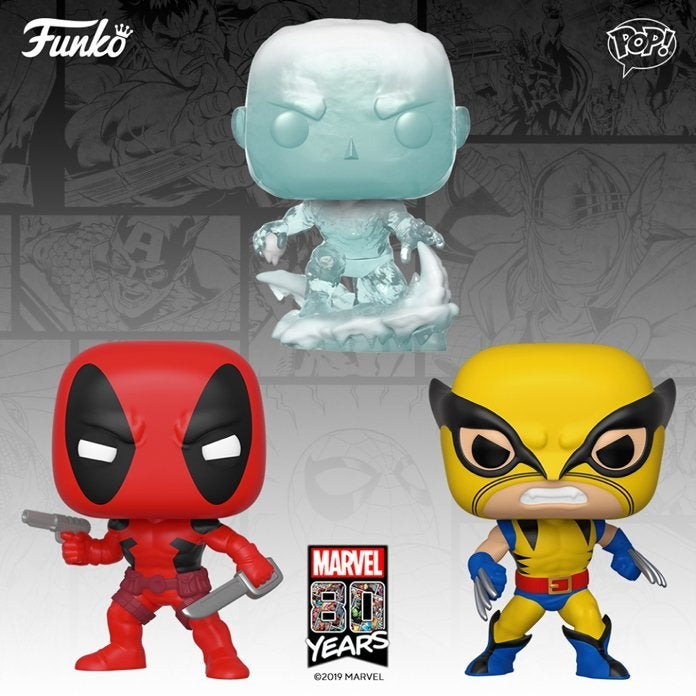 Funko Adds Wolverine, Iceman, And Deadpool Pops To Their