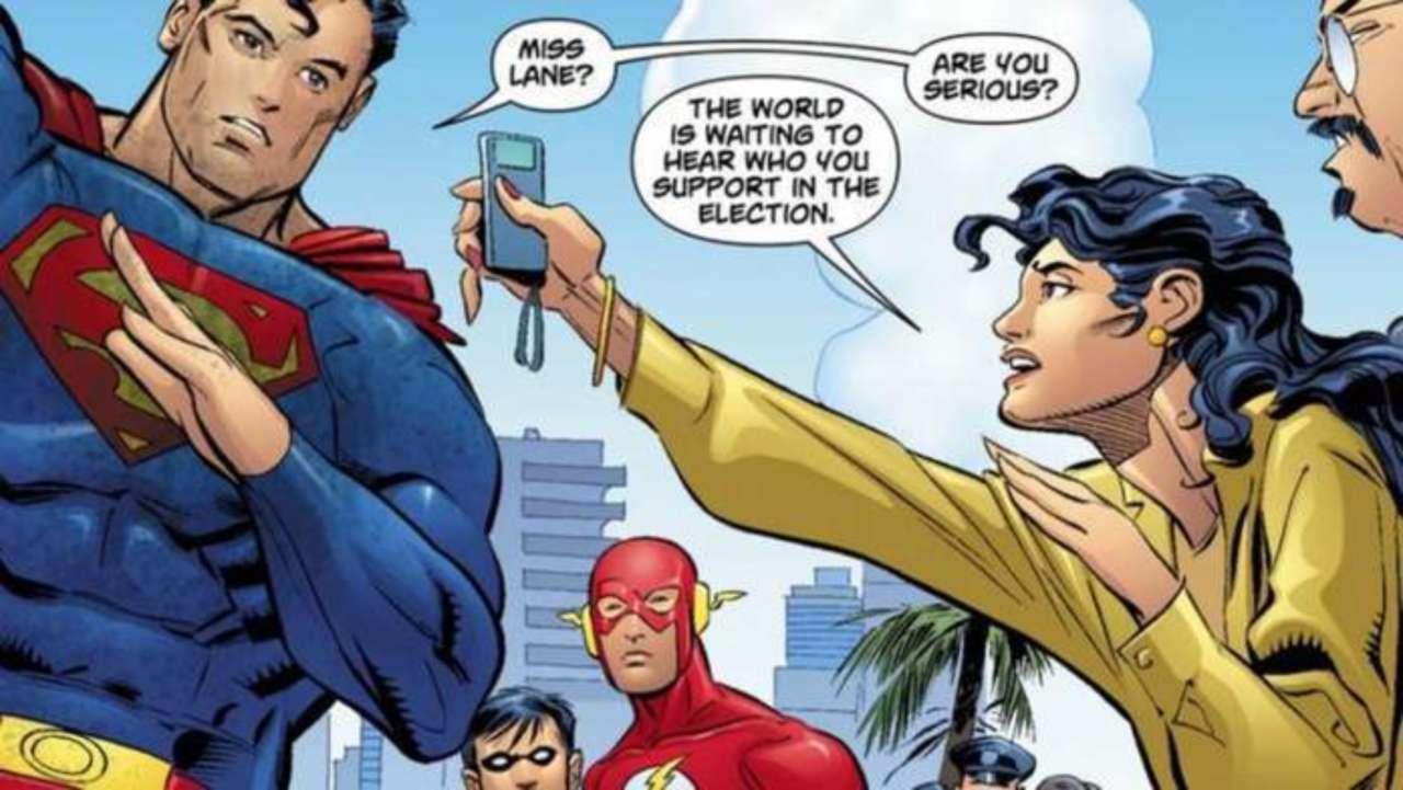 Marvel and DC Get Political