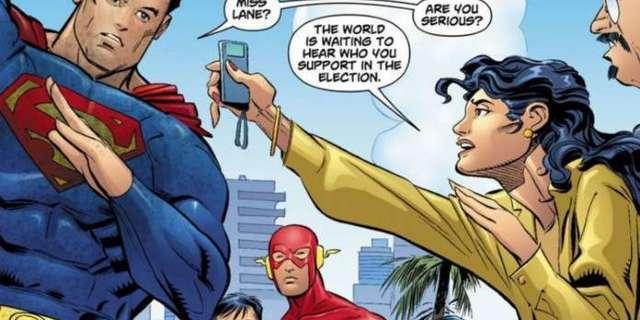 Marvel and DC Superhero Politics - Cover