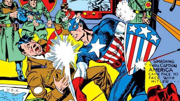 Marvel and DC Superhero Politics - Hitler