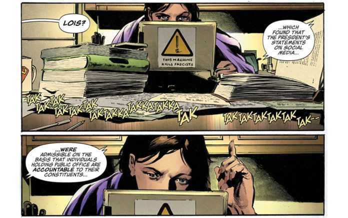Marvel and DC Superhero Politics - Lois Lane #1