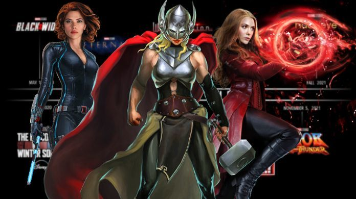 Marvel Phase 4 Movies TV Shows Release Dates Actors Characters