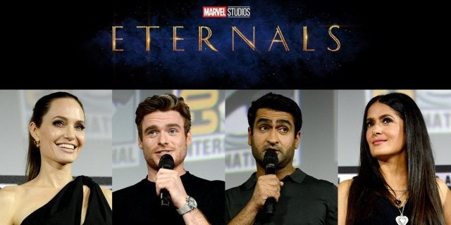 Marvel Phase 4 The Eternals Movie Cast Characters