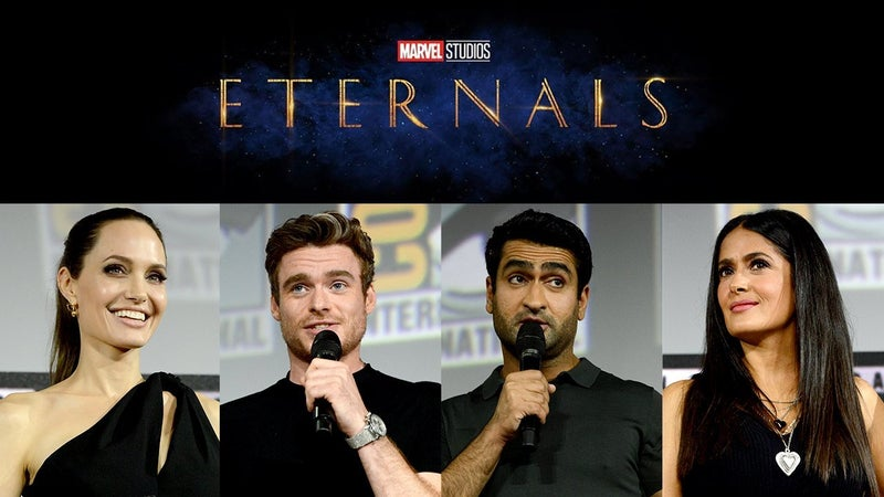 Image result for cast of marvel eternal