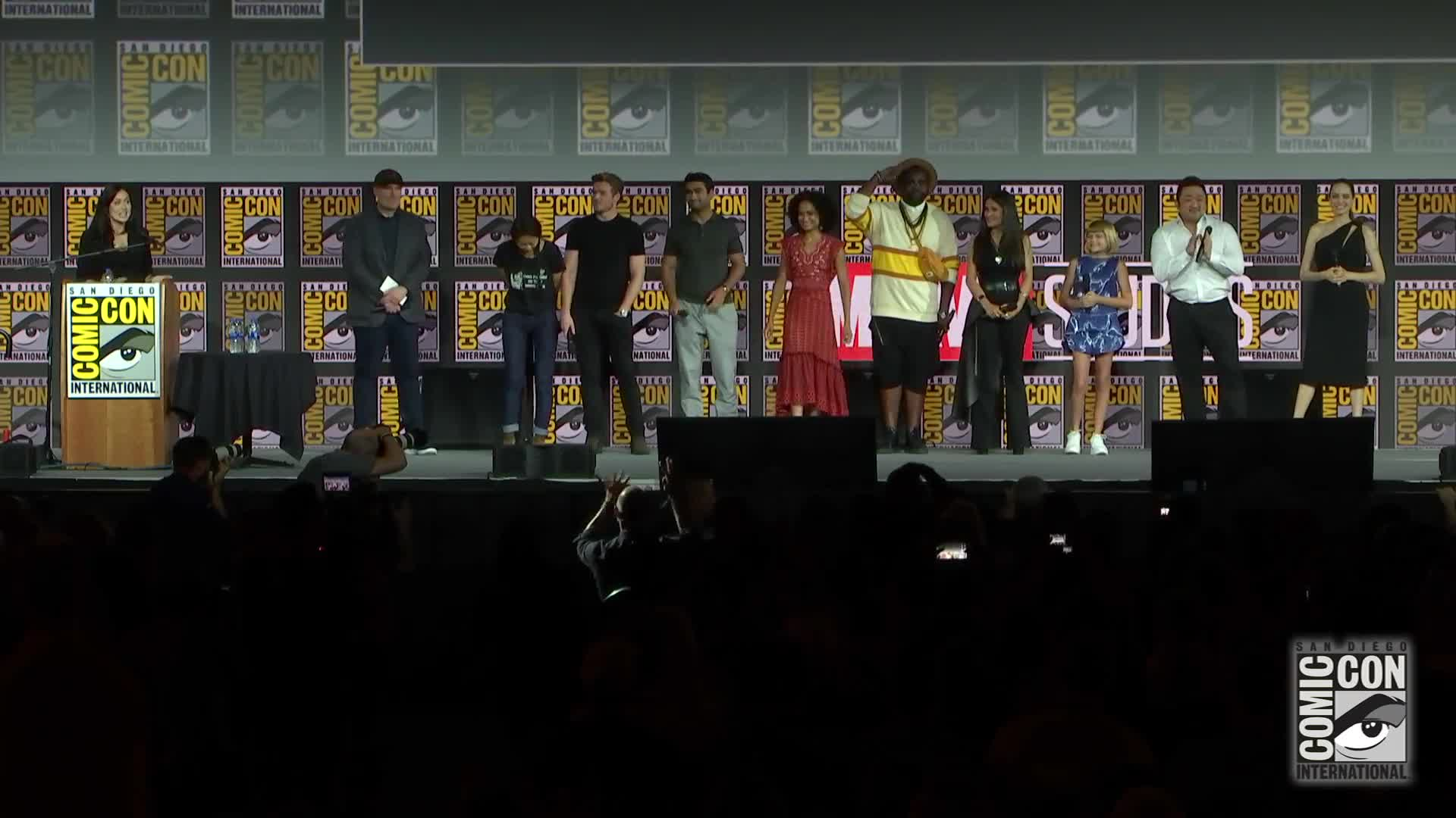 Marvel Studios - Hall H Panel B-Roll - SDCC 2019 [HD] screen capture