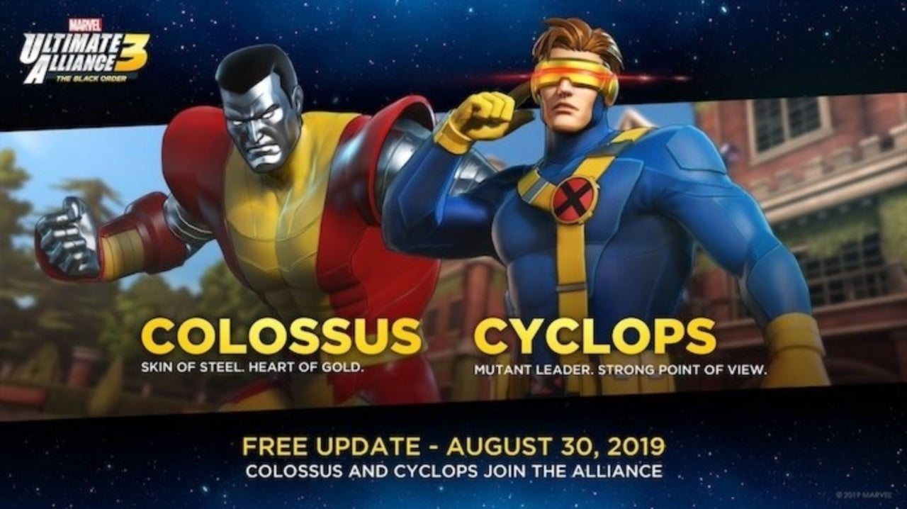 Marvel Ultimate Alliance 3 Is Adding Cyclops and Colossus as Free DLC Characters