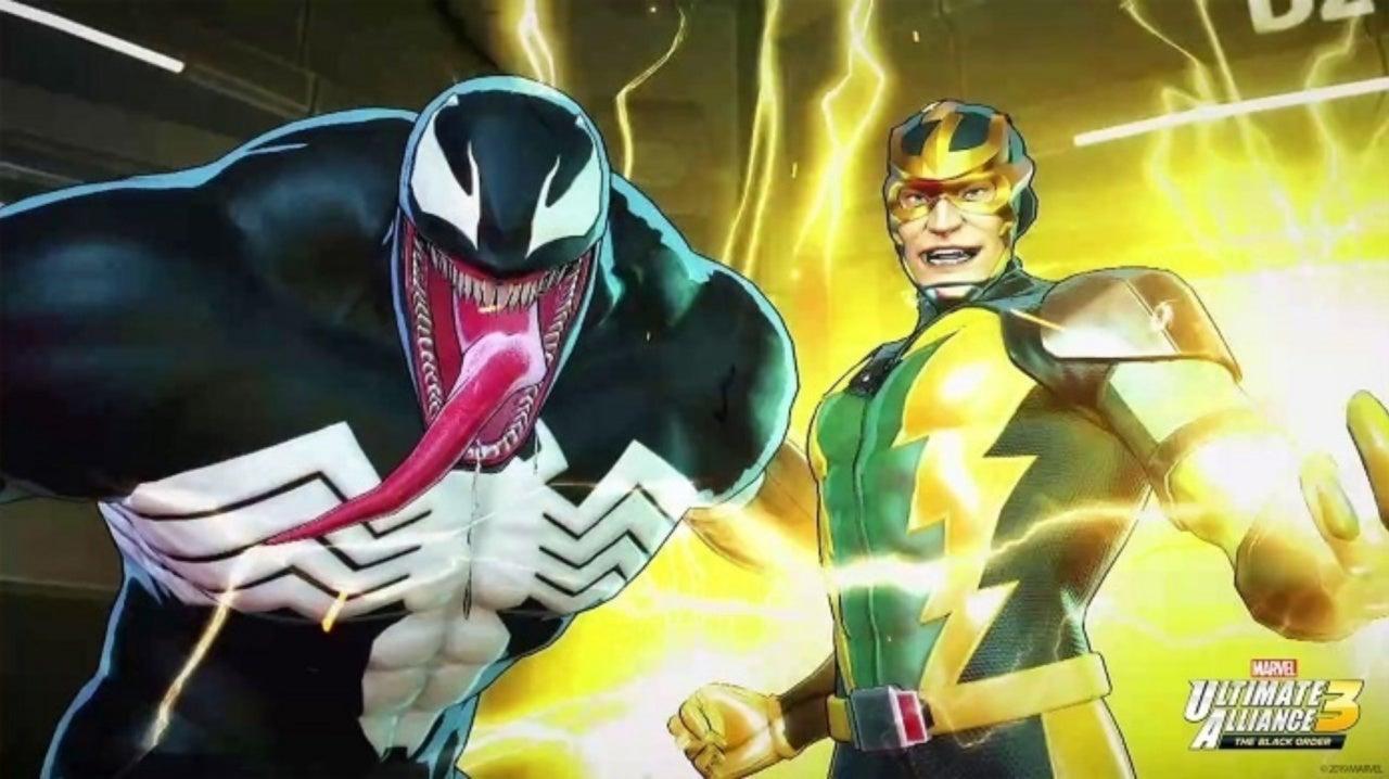 Nintendo Shares Artwork for 4 Marvel Ultimate Alliance 3 Characters