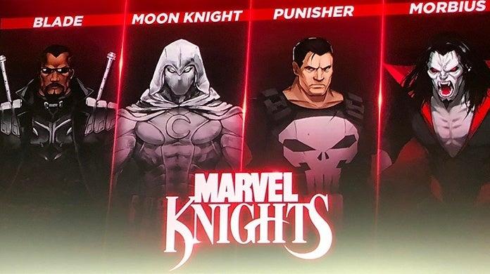 Marvel Ultimate Alliance 3 The Black Order Marvel Knights
