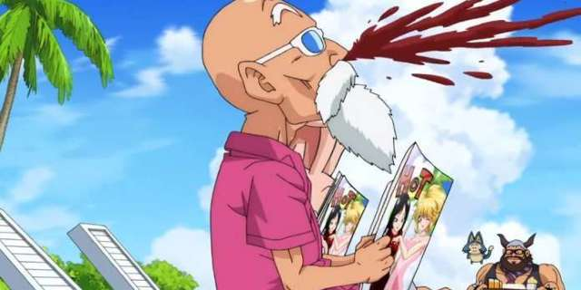 Dragon Ball Fans Give Roshi The Perfect Naughty Cosplay