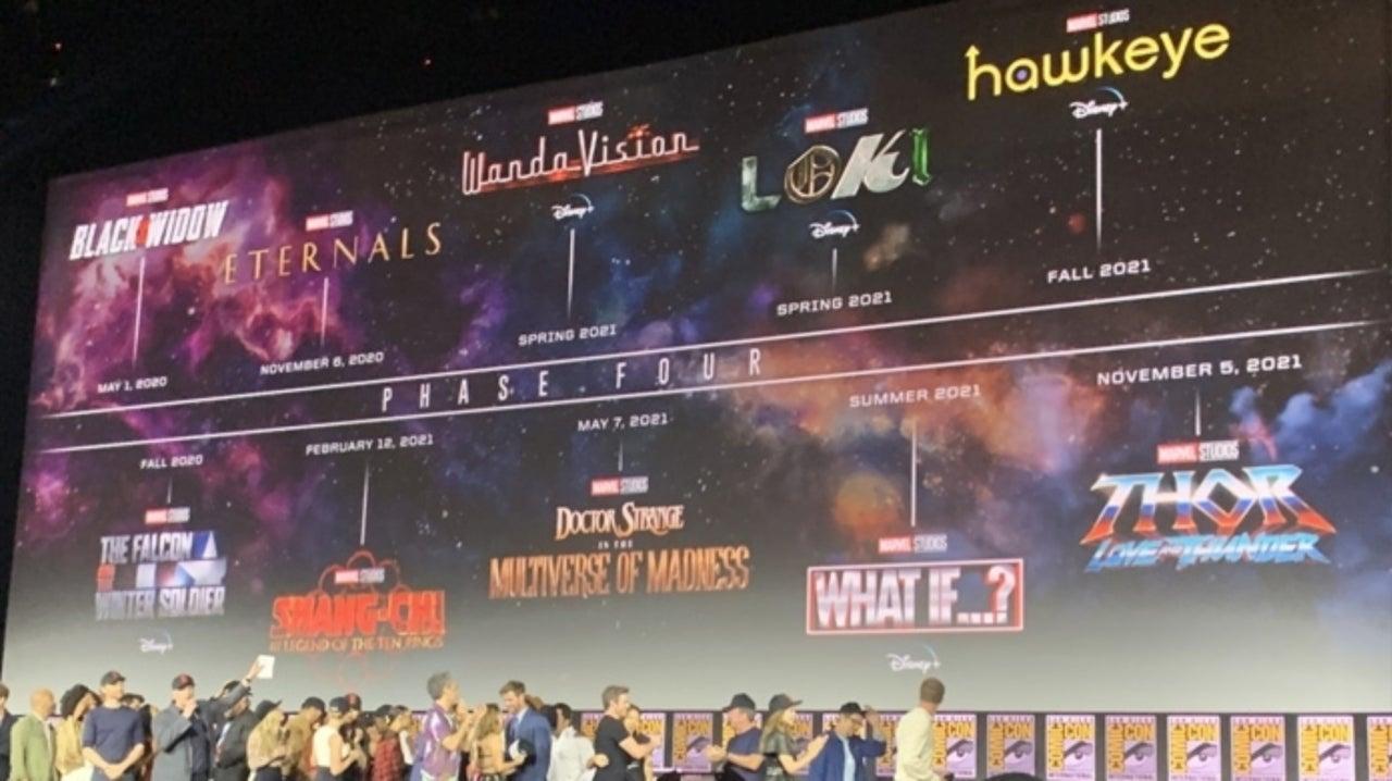 Marvel Studios Phase 4 Trailer Released