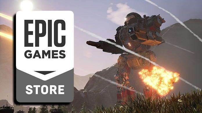 MechWarriors 5 Mercenaries Epic Games Store