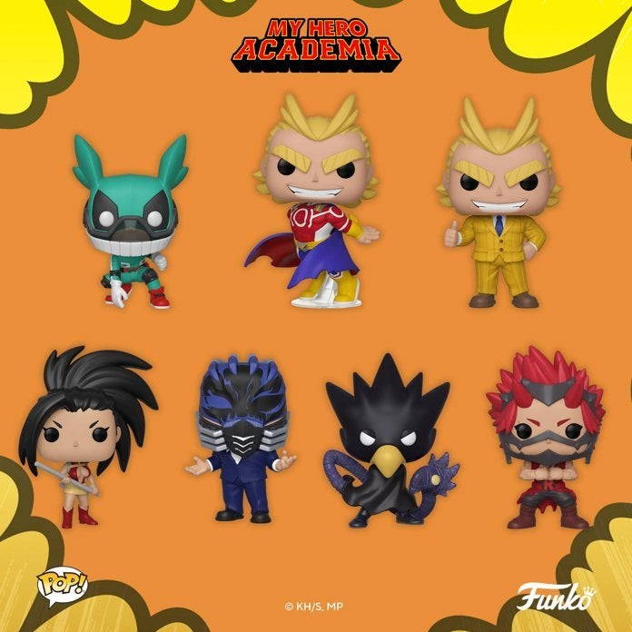 My Hero Academia Launches 13 New Funko Pop Figures Including Kirishima Toga And More