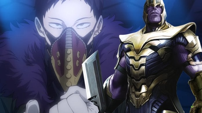 My Hero Academia Overhaul Thanos