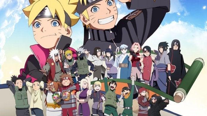 Naruto Boruto 20th Anniversary
