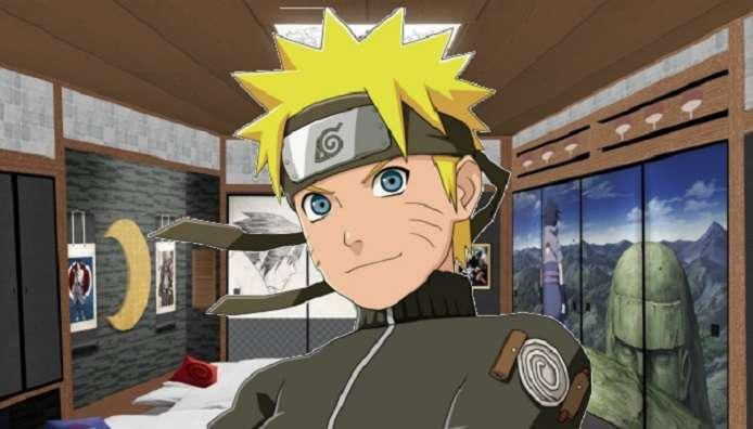 Naruto Hotel Room