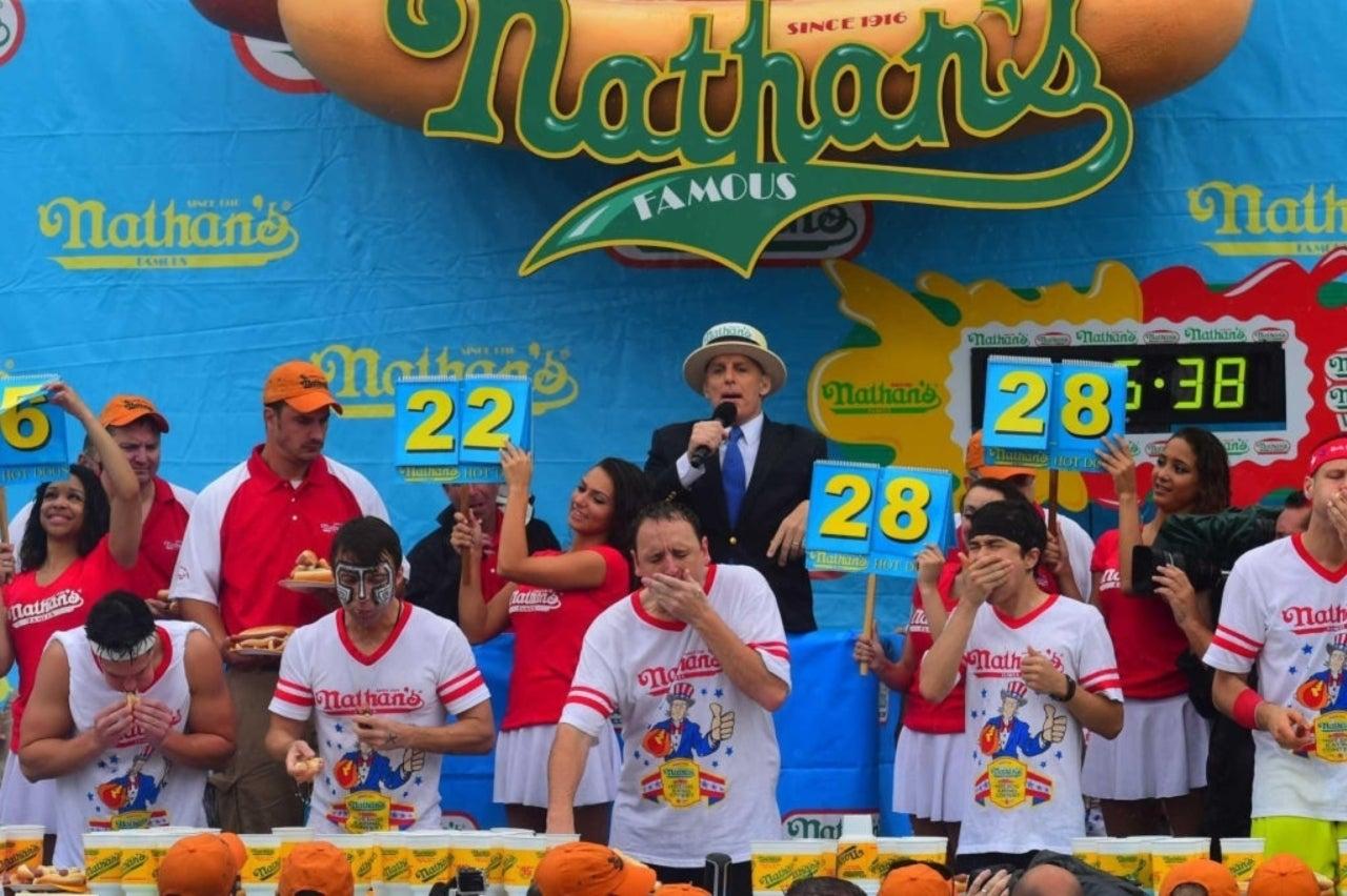 Former Nathan's Hot Dog Contest Champion Kobayashi Accuses Joey Chestnut of Cheating
