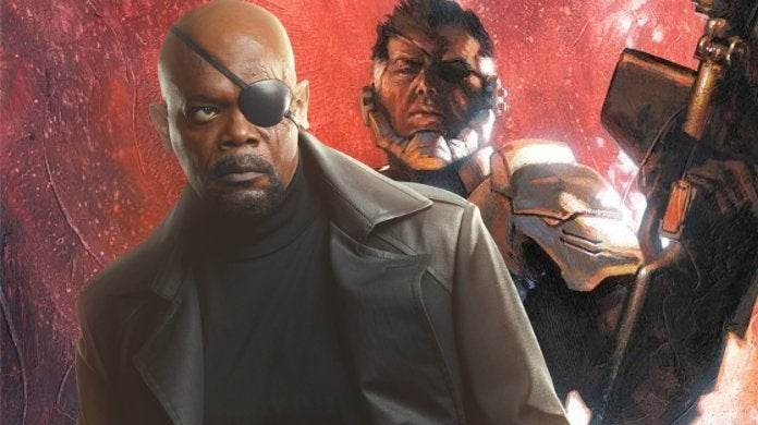 Nick Fury The Man on the Wall