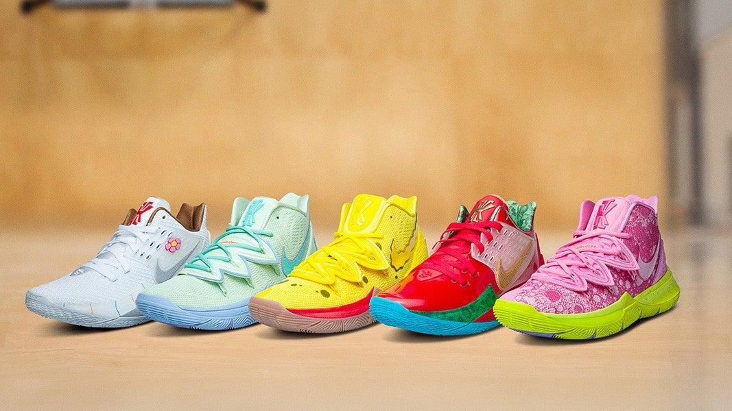 The SpongeBob SquarePants Nike Kyrie