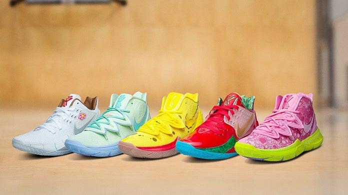 Nike-Kyrie-Irving-SpongeBob-SquarePants-Shoe-Line