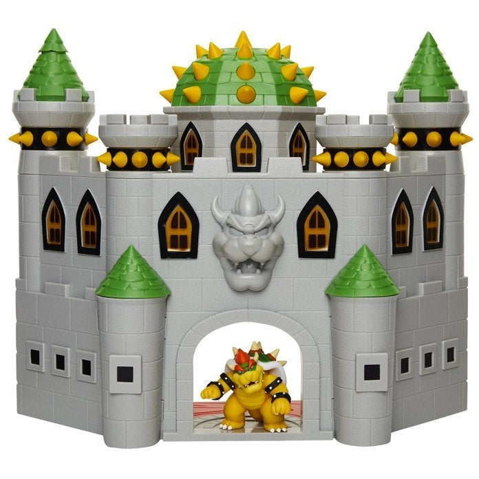 Nintendo's Super Mario Bowser's Castle Playset Features In