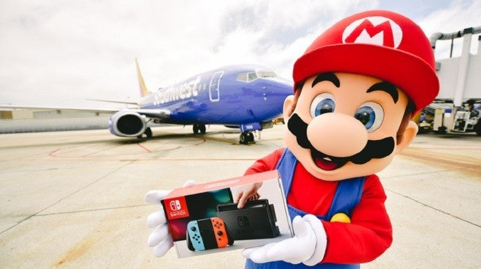 Nintendo Southwest Airlines